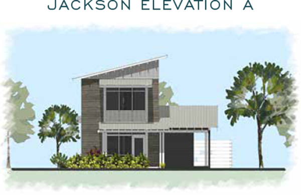 Jackson Elevation A for homes at Eden's Landing