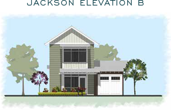 Jackson Elevation B for homes at Eden's Landing