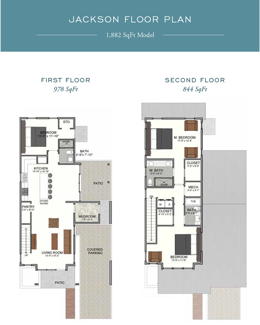 Jackson Floorplan in the community of Eden's Landing