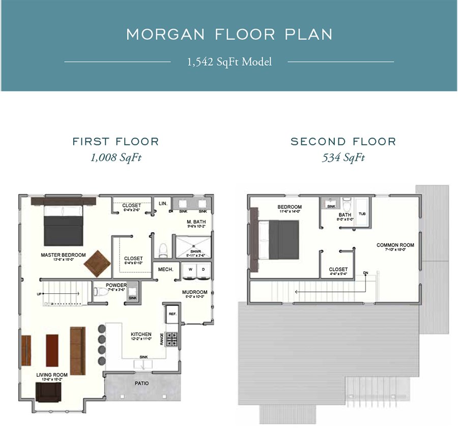 Morgan Floorplan in the community of Eden's Landing