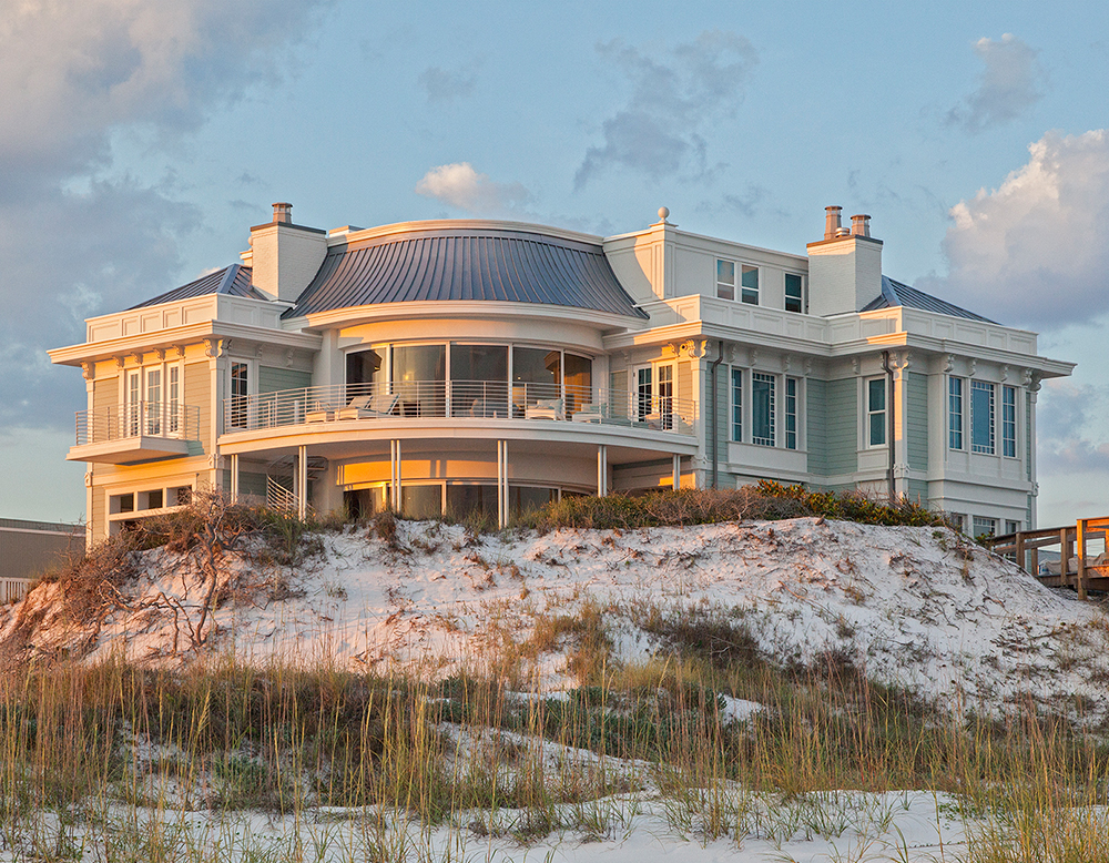 Grayton Beach Gulf Front Construction